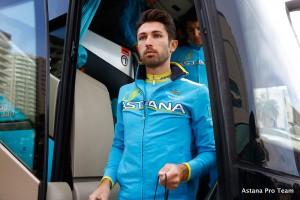 Dario Cataldo, compagno di Nibali all'Astana