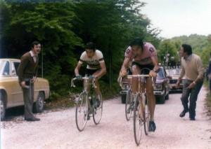 Eddy Merckx e Felice Gimondi