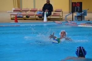 Il giovane Anastasi recupera un pallone