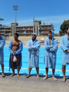 Alcuni giocatori dell'Ossidiana Marbi
