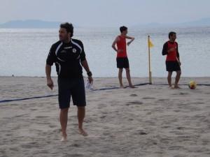 Il preparatore atletico Andrea Nardi