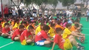 I cestisti presenti al Jamboree Regionale