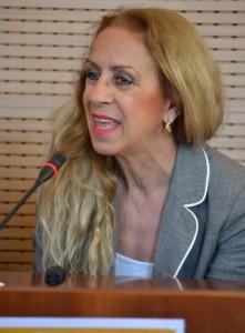 L'organizzatrice Grazia Laganà