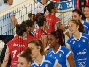 MAM Santa Teresa - Casal Dè Pazzi, il saluto fra le due squadre