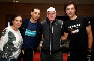 Vincenzo Nibali e Fabian Cancellara
