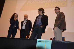 Sul palco l'assessore Ursino, F. Coglitore, M. Coglitore e Bonardelli