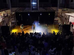 Una delle tante esibizioni musicali che hanno intrattenuto i visitatori