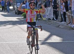 Gara ciclismo categoria giovanissimi