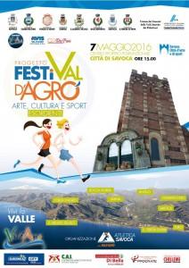 Locandina Val D'Agrò Running
