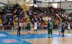 Una fase di sport Patti-Agropoli