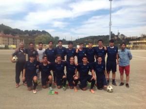 Gli Allievi dell'Accademia Calcio Messina