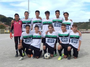 """La squadra """"Giovanissimi"""" del Camarello"""