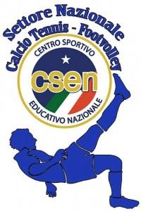 Csen Logo Calcio-Tennis Footvolley