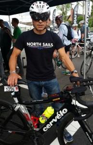 Giovanni Barbiglia in bici