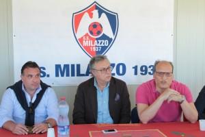 Milazzo conferenza stampa