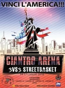 3° Ciantro Arena Street Basket
