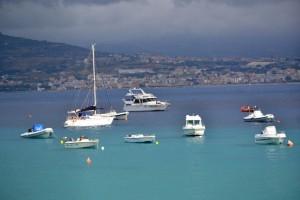 L'incantevole panorama dello Stretto di Messina