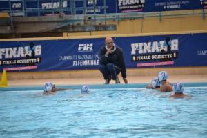 Un time out della Polisportiva Messina
