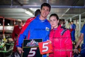 La coppia mista Antonio Sacca e Federica Gemelli