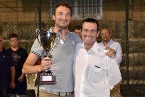 Il responsabile del torneo, avv. Irrera e il Presidente dell'Ordine Avv. Vincenzo Ciraolo