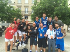 Le Nazionali Italiane 3x3 Streetball