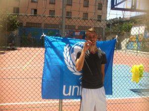 Francesco Grasso vincitore del tiro da tre - Under 21