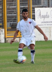 Agostino Rizzo in azione