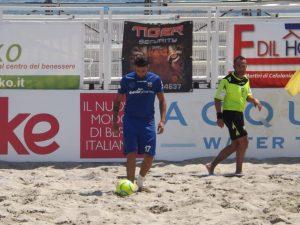 Fabio Sciacca in azione