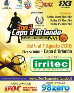 Locandina Trofeo Irritec 2016