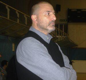 L'allenatore della Mia Basket Massimo Sigillo