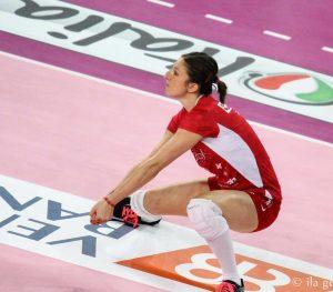Valentina Rania in azione
