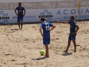 Venuti e Juninho sul pallone