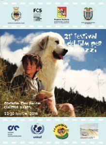 Il manifesto del Festival del Film per Ragazzi di Giardini
