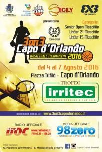 3on3Capo d'Orlando Tournament