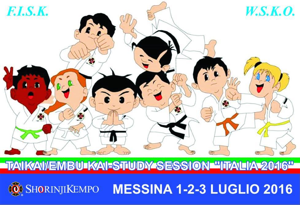 stage shorinji kempo italia 2016