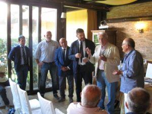 La premiazione di Renato Papa