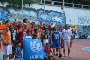 I partecipanti del 6° Basket for Younicef