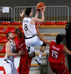 Levan Babilodze in azione