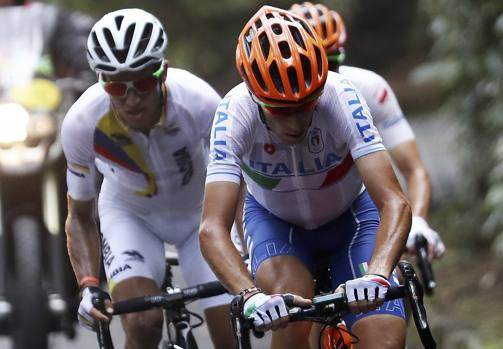 Rio2016: sorride Van Avermaet. La iella atterra Nibali