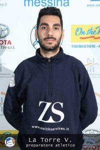 Il preparatore Atletico Vincenzo La Torre