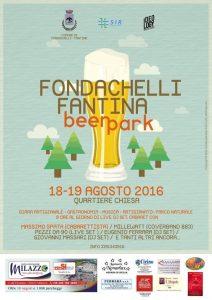 La locandina del Fondachelli Beer Park