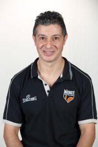 Il preparatore atletico del Basket Barcellona Antonio Nania