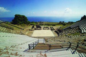 Il Teatro Antico di Tindari