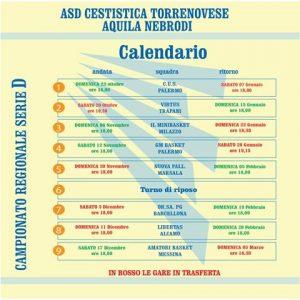 Calendario Aquila Torrenova