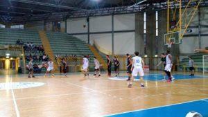 Una fase di Sport Patti-Eagles Palermo