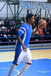 Akeem Caddell, nuovo acquisto dell'Fp Sport Messina