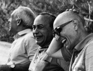 Consolo, Sciascia e Bufalino in uno scatto di Giuseppe Leone