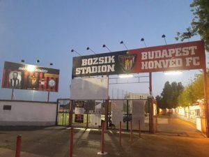Lo stadio del'Honved Budapest