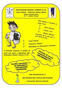 Locandina Messina Scherma ASD