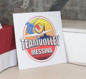 Il logo del Team Volley Messina